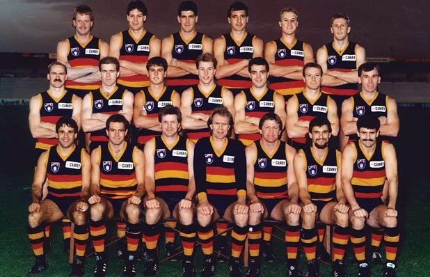 Adelaide Crows first winning team 1991